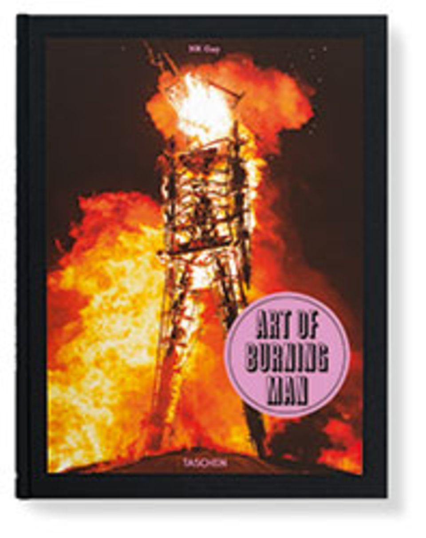 USA: Art of Burning Man, NK Guy, Hardcover mit Ausklappseiten, 280 Seiten, zahlreiche farbige Abbildungen, Text in Englisch, Deutsch, Französisch, Taschen, 39,99 Euro