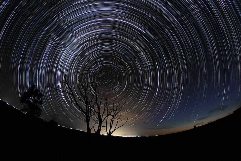 Nachthimmel über Australien