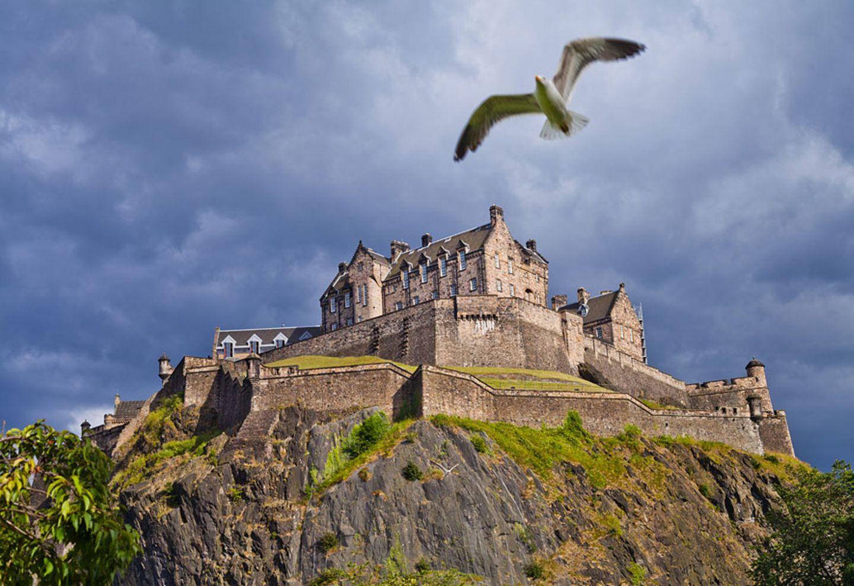 Schottland: Edinburgh Castle