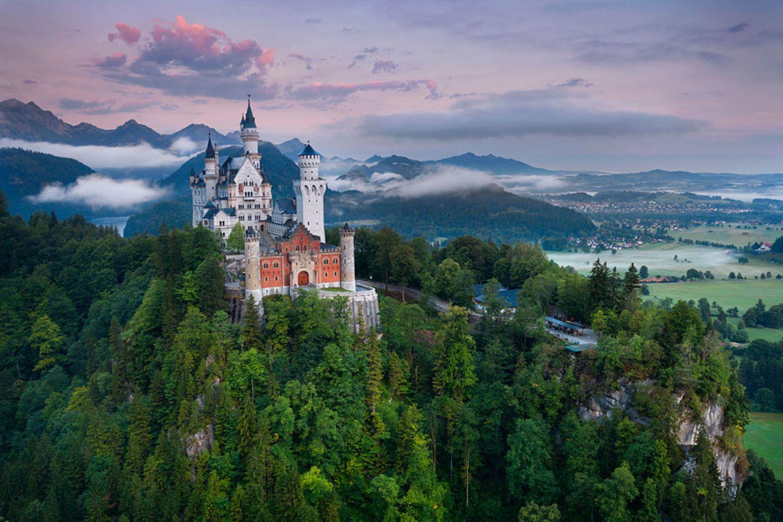 Deutschland: Neuschwanstein in Schwangau