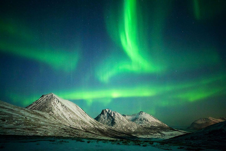 Polarlichter in Nordeuropa