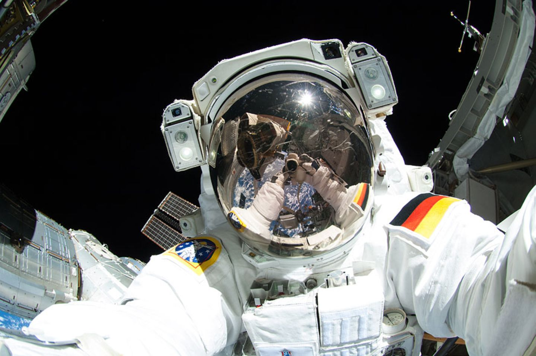 Selfie im All