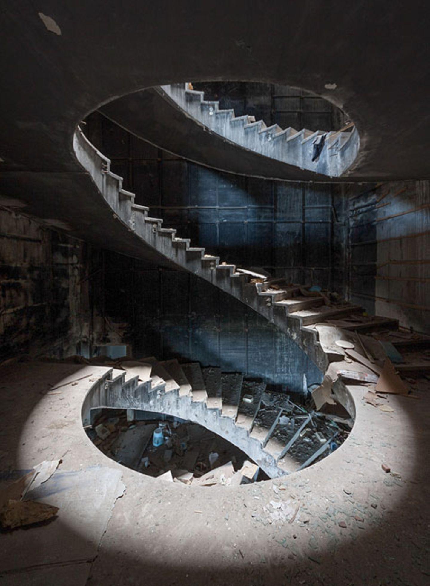 Treppenhaus des Hotels Belvedere in Dubrovnik