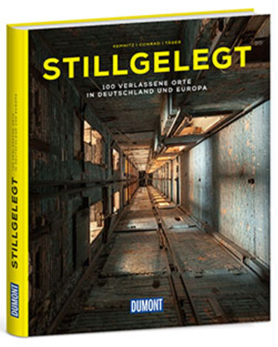 Fotogalerie: Stillgelegt - 100 Verlassene Orte in Deutschland und Europa Fotos: Thomas Kemnitz, Robert Conrad, Michael Täger DuMont 2016 224 S., 29,99 (D)