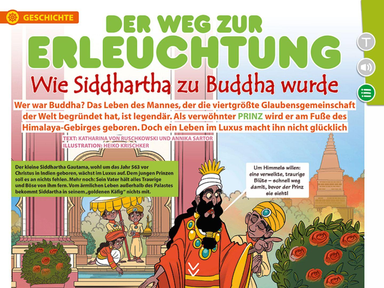 App: GEOlino extra Weltreligionen fürs iPad und Tablet! - Bild 5