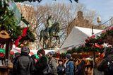 Der deutsche Weihnachtsmarkt in New York