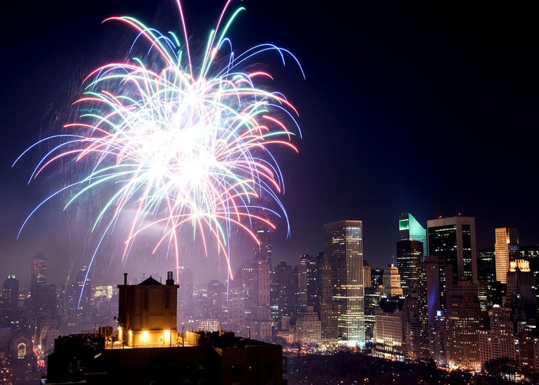 Der beste Platz fürs Silvester Feuerwerk