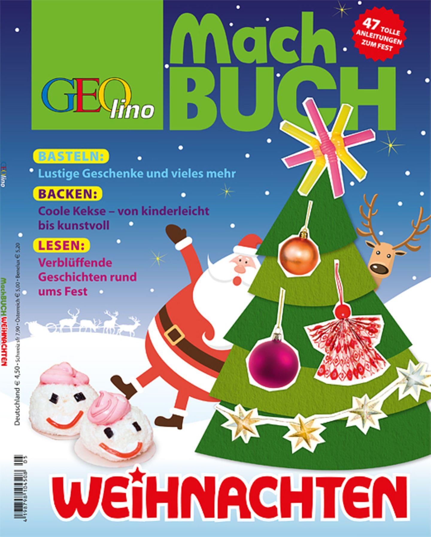 Das GEOlino-Machbuch: Weihnachten