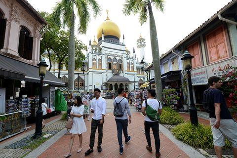 Singapur: Jedes Viertel eine andere Welt