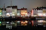 Nyhavn bei Nacht