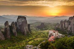 Metéora-Felsen, Griechenland