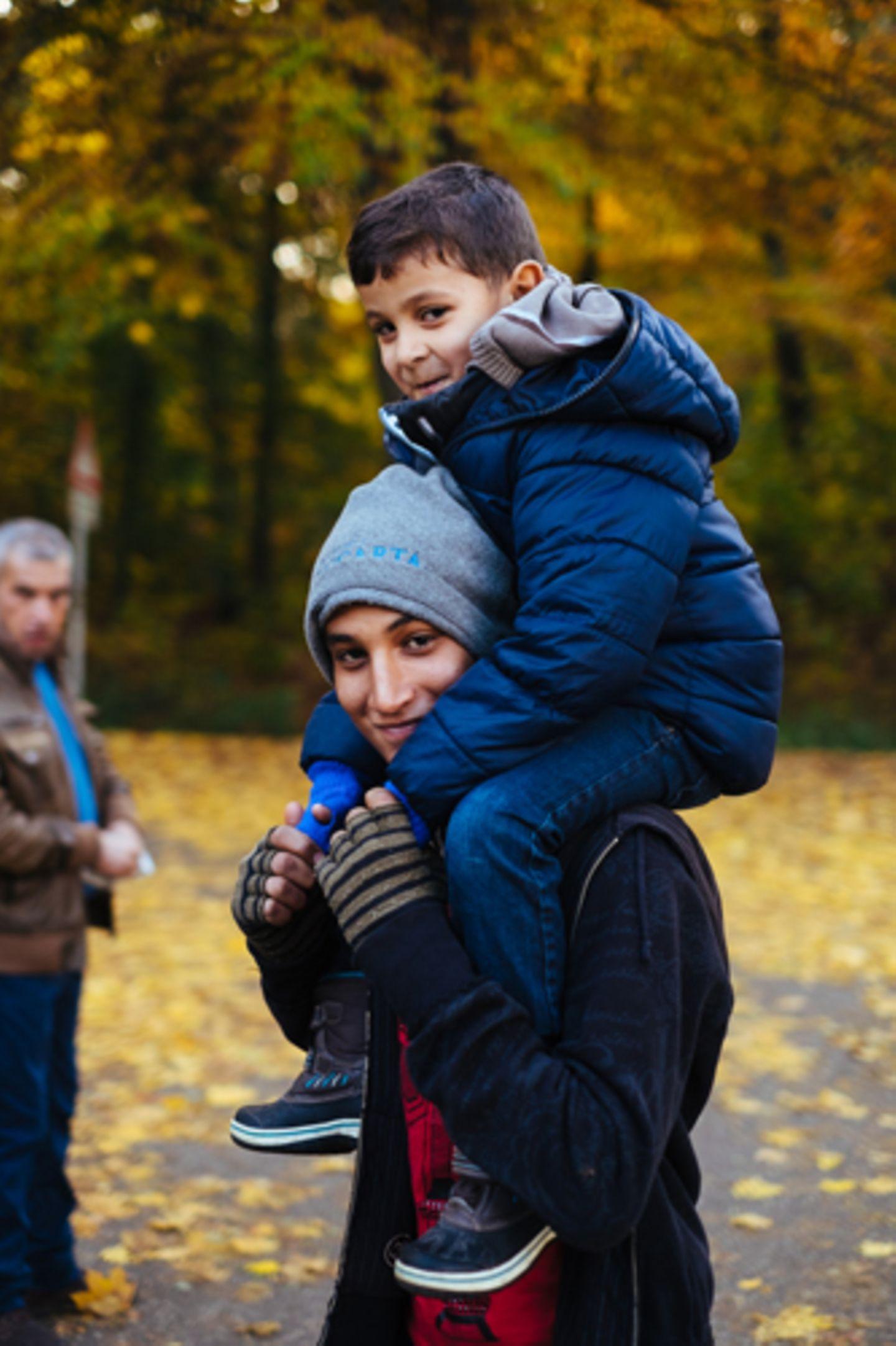 Flüchtlinge: Fotogalerie: Ein neuer Anfang - Bild 4
