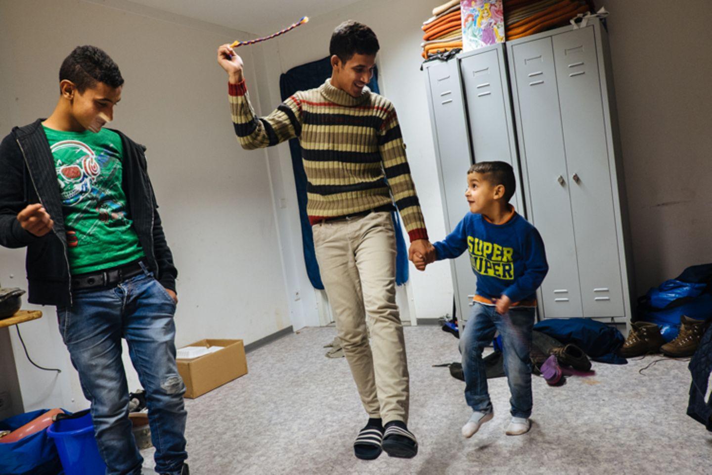Flüchtlinge: Fotogalerie: Ein neuer Anfang - Bild 12