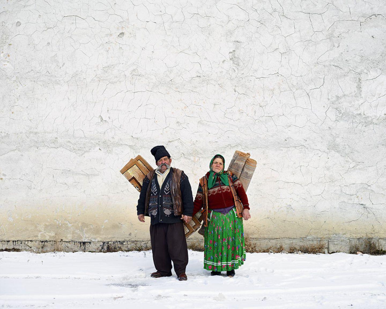 Teppichhändler in Pojorâta