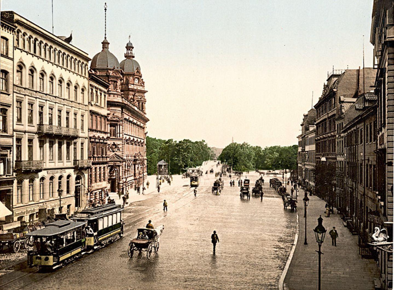 So sah Hamburg vor über 100 Jahren aus