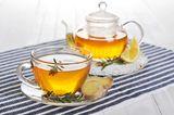 Gesunde Tees statt Kaffee