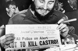 Die CIA versuchte, Fidel Castro mit einer explodierenden Muschel zu töten