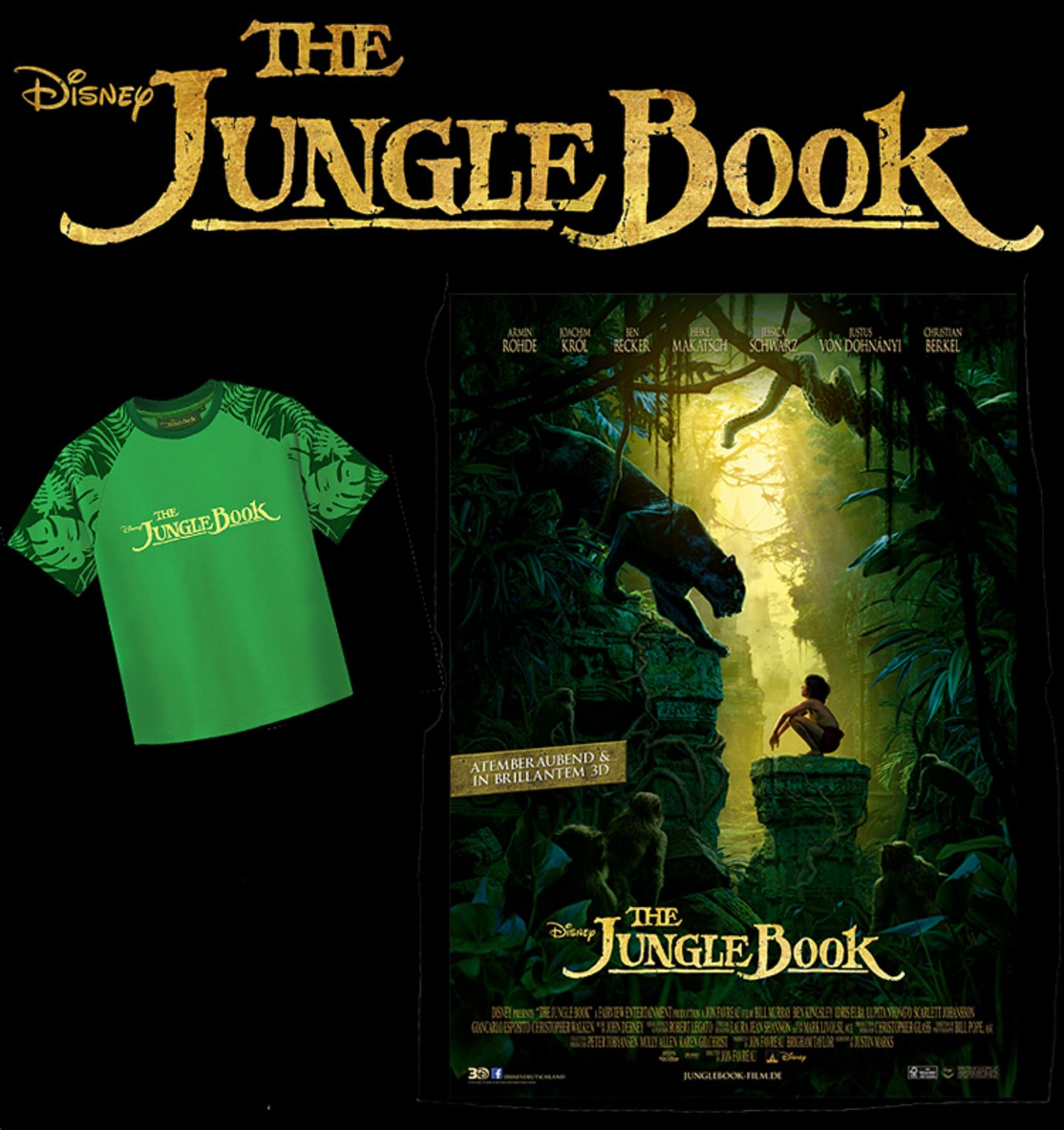 Kino: Filmtipp: The Jungle Book - Bild 3