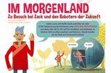 Zukunft: Comic: Zu Besuch bei den Robotern der Zukunft