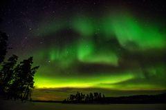 Polarlichter über Lappi