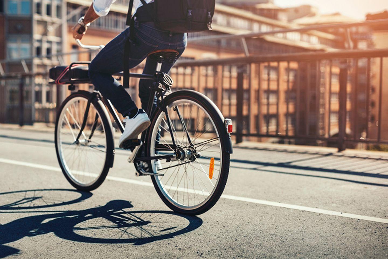 Fahrrad ans Tageslicht