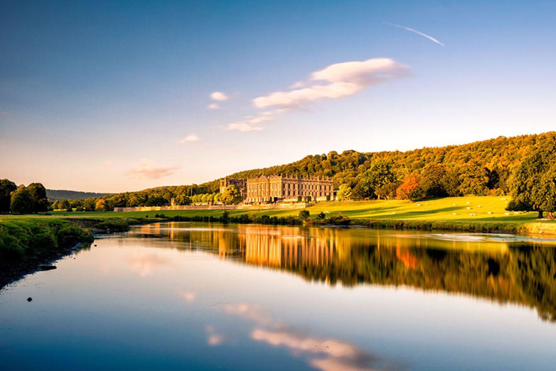 Chatsworth Garden, Derbyshire
