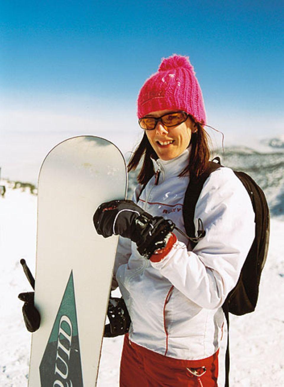 Mein erstes Snowboard, mein erster Winterurlaub: Jill aus England ist begeistert - auch vom Nachtleben in Bansko