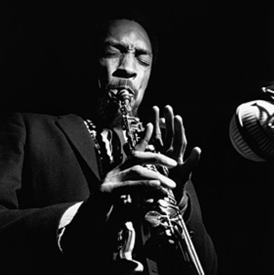 Der Klang von Instrumenten weckt Emotionen: der Jazzer Sam Rivers 1965 am Sopransaxofon