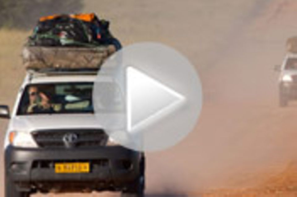 Video-Blog: Wolk in Namibia