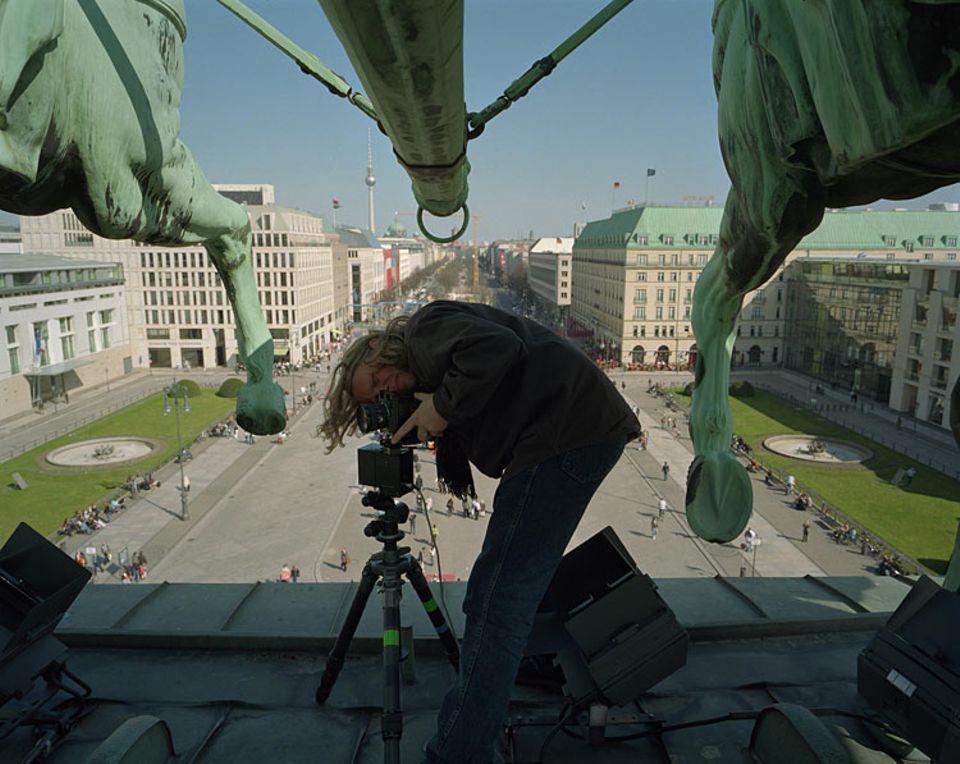 Auf der heiligen Kuh der Berliner Behörden: GEO-Special-Fotograf Harf Zimmermann