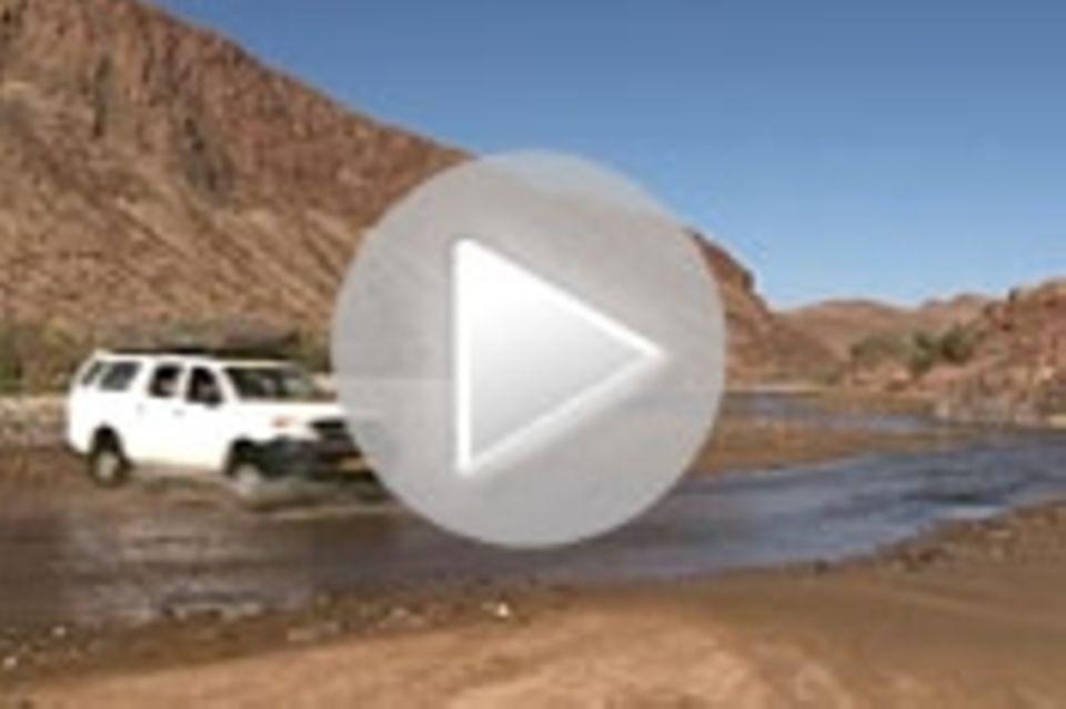 Wolk in Namibia: Offroad-Abenteuer