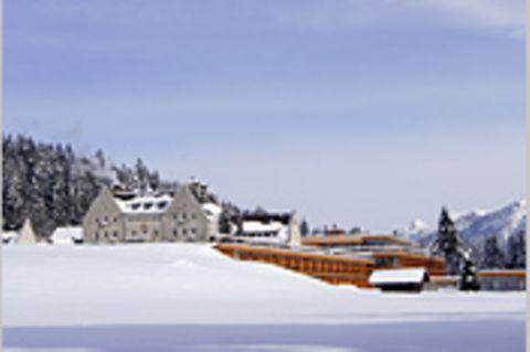 Zugspitze: Im Schnee baden