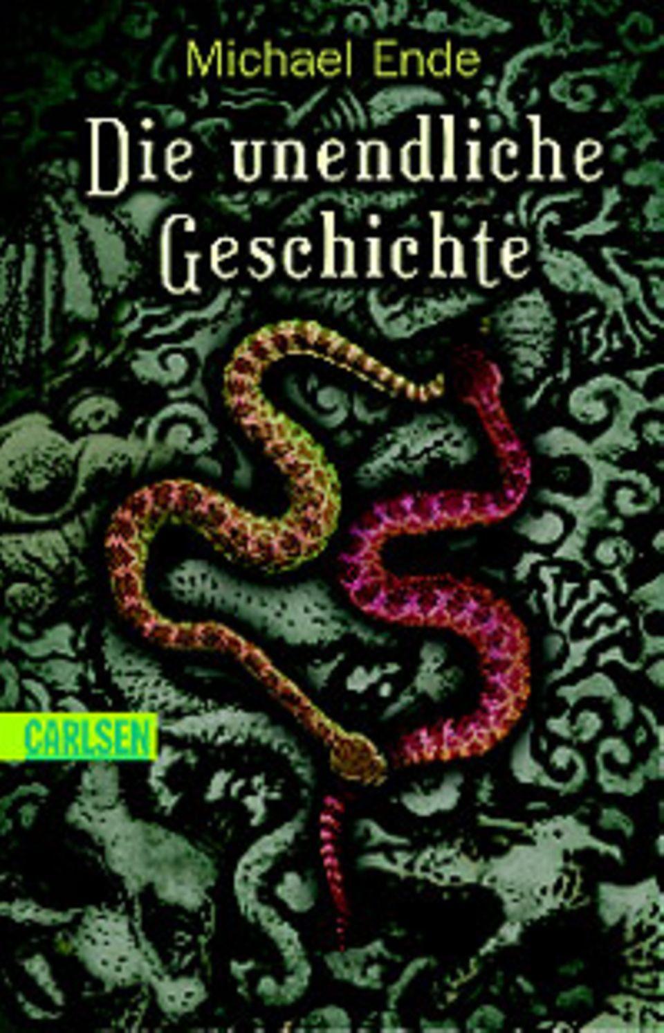 """Cover des Romans """"Die unendliche Geschichte"""" von Michael Ende"""