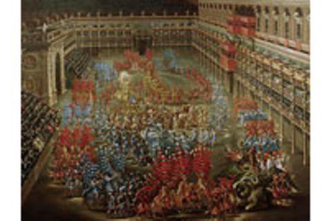 Das barocke Fest: Die Bühne der Macht