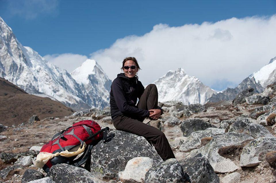 Beruf: Etwa 150 Bergsteiger interviewt Billi Bierling jedes Jahr