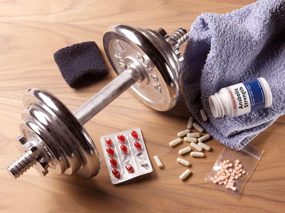 Beruf: Anabolika sind die meist verwendeten Dopingmittel, um in kurzer Zeit besonders viele Muskeln aufzubauen.