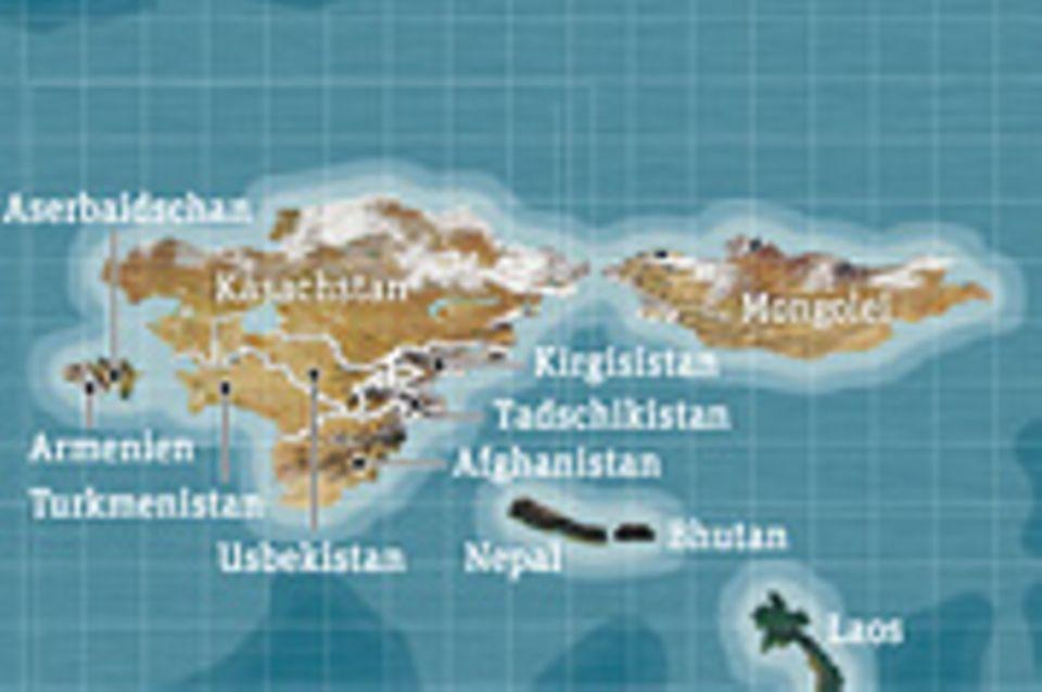 Weltspiel: Trockenländer nass gemacht