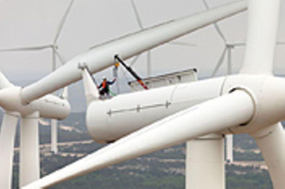 Windkraft: Strom-Ernte mit Gefühl