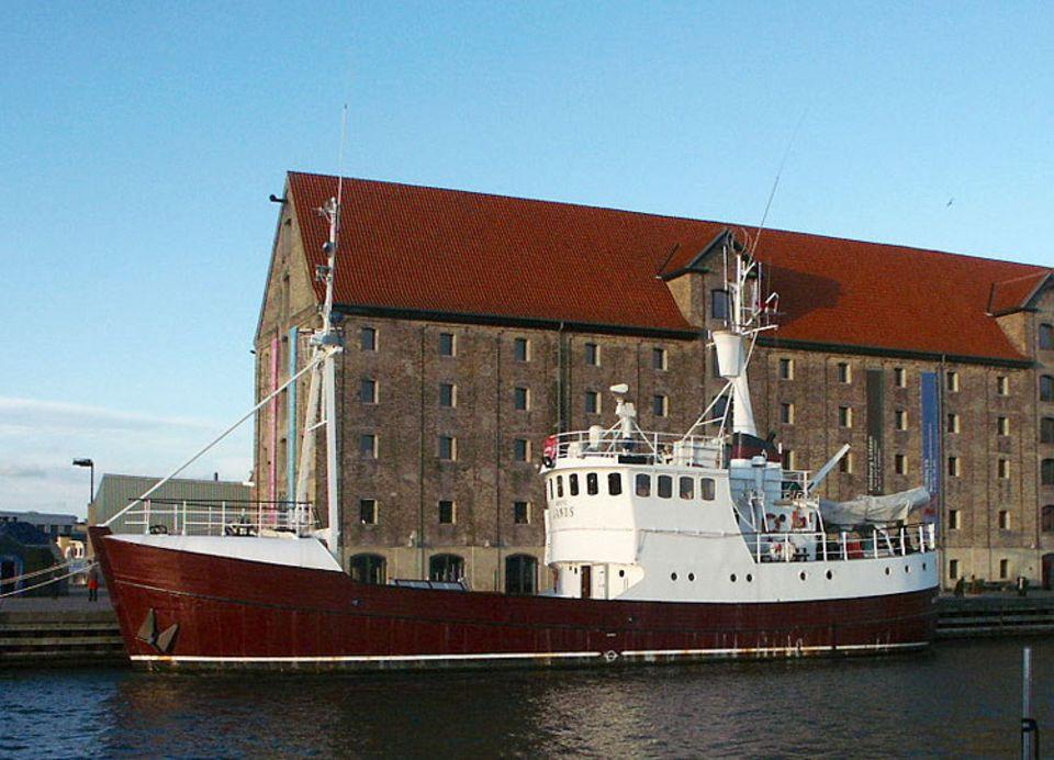 """Reise-Experiment: Momentan ist die """"Arctic Janus"""" eine Frühstückspension und liegt im Stadtteil Christianshavn"""