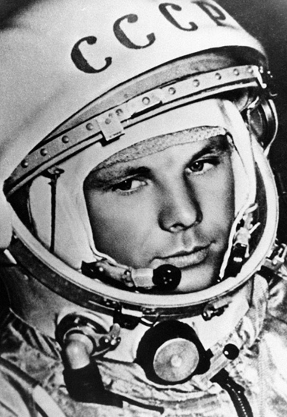 Juri Gagarin - der erste Mensch im All
