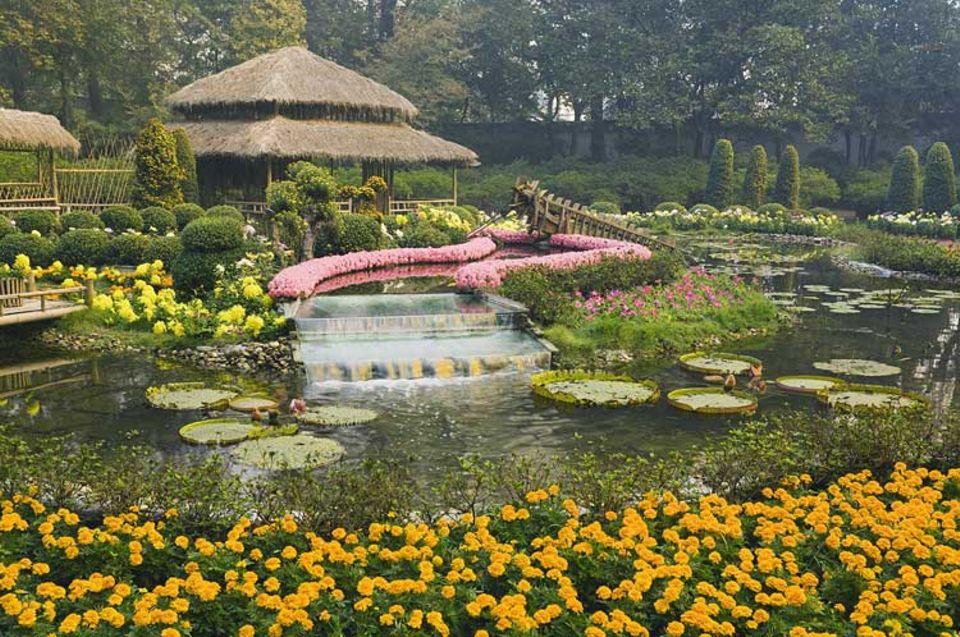 """Reisespecial: Einige der schönsten Gärten Chinas kann man in Suzhou bewundern, das auch """"Venedig des Ostens"""" genannt wird"""