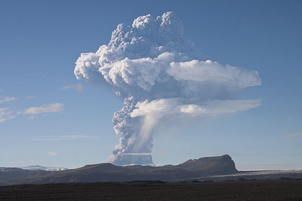 Geologie: Einer der aktivsten Vulkane Islands: Der Grímsvötn ist ungefähr alle zehn Jahre aktiv