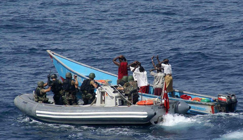 Kriminalität: Somalische Piraten werden gestellt