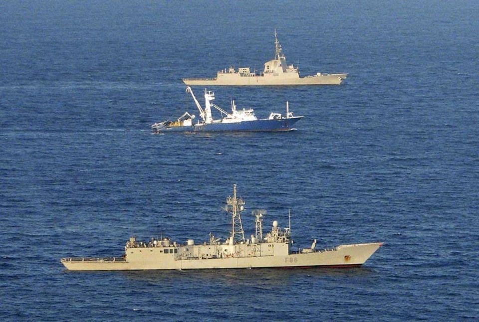 Kriminalität: Schutz auf hoher See durch Marineboote