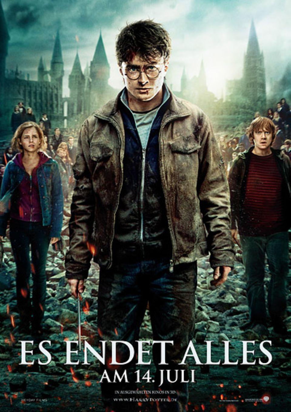 """Kinotipp: Das offizielle Filmplakat zu """"Harry Potter und die Heiligtümer des Todes -Teil 2"""""""