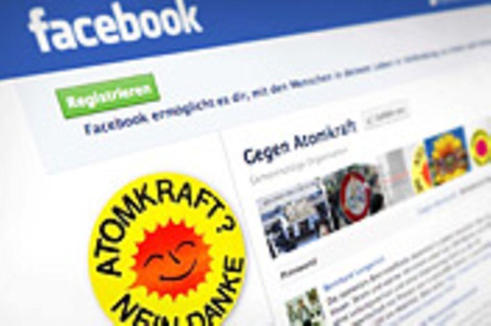 Soziale Medien: Gegen Atomkraft - 99466 Personen gefällt das!