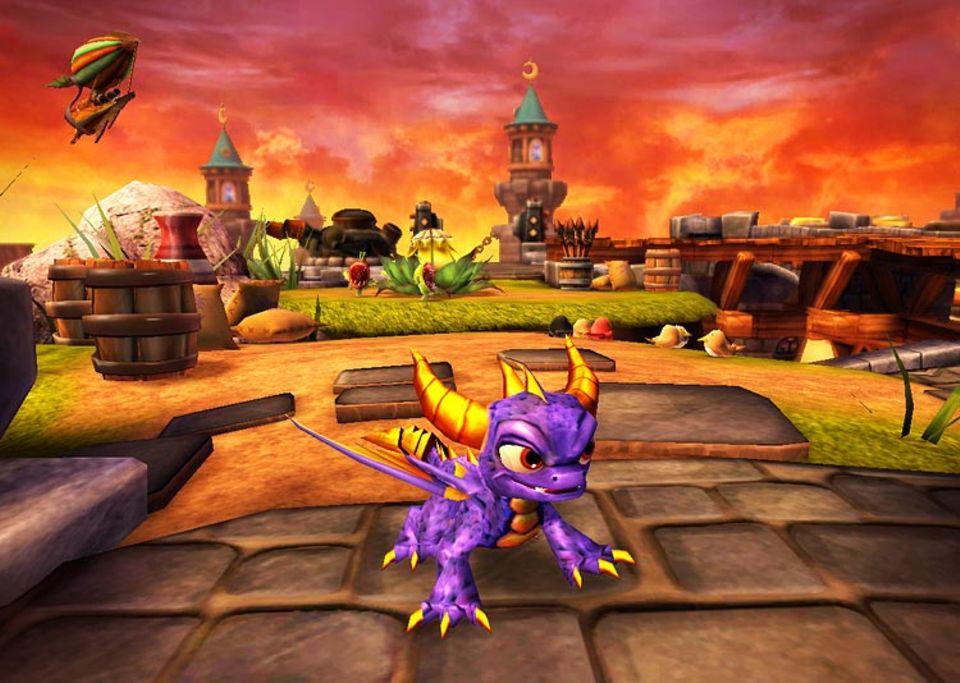 Beruf: In Skylanders Spyro's Adventure treibt der Drache bald sein Unwesen