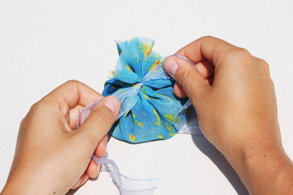 Tipps und Tricks: Zu einem Säcken binden