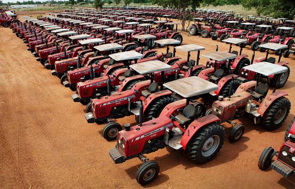 Äthiopien: 350 Traktoren von Saudi-Star für den Reisanbau auf 100.000 Hektar