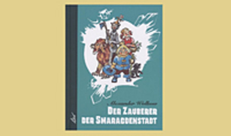 """Buchtipp: Das Buchcover zu """"Der Zauberer der Smaragdenstadt"""""""